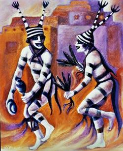 historia-clowns_sagrados_heyoka_pintura
