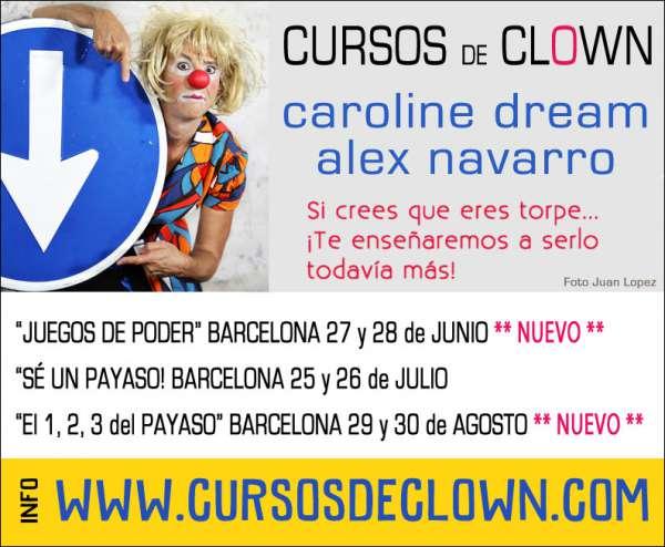 Cursos Clown Barcelona