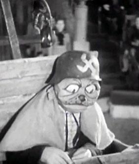 Sello Karandash - Payaso Ruso imitando a soldado alemán