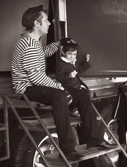Val de Fun con su hijo Vladimir