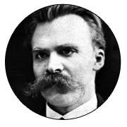 Frase Clown Friedrich Nietzsche